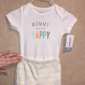 Carters 6m outfit